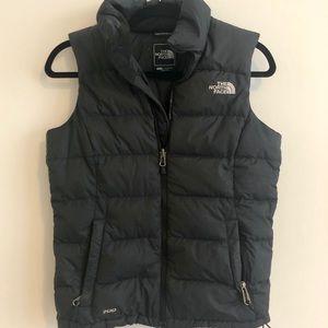 The North Face black vest
